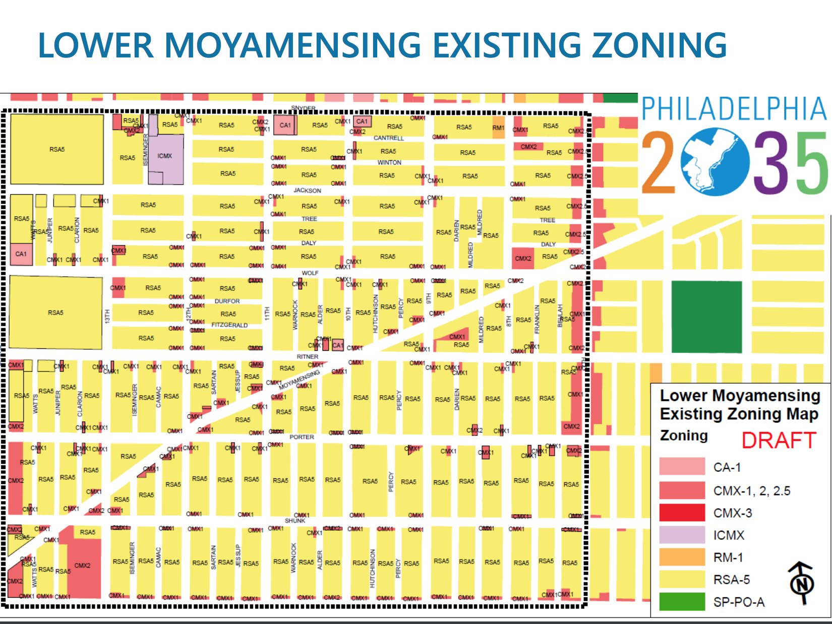 Lower Moyamensing sees zoning shifts in the Philadelphia2035 plan - South Philly Review